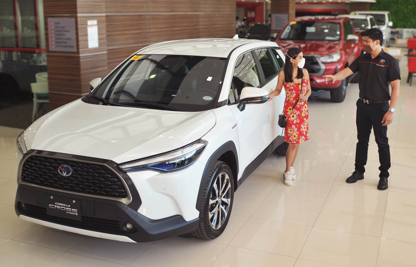 Test-driving the Toyota Corolla Cross in Cebu