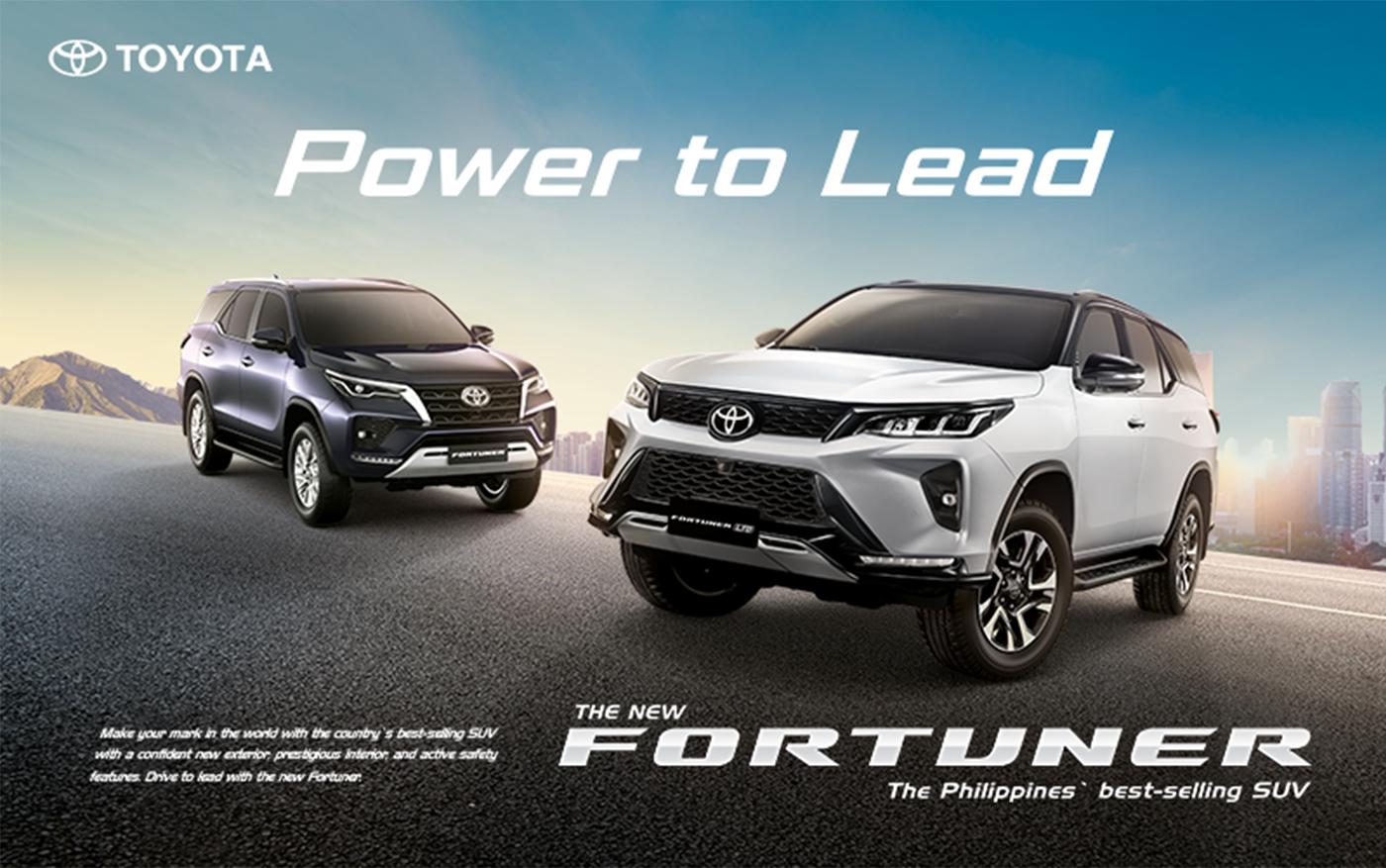 Toyota PH Affirms Power to Lead with Unveiling of New Fortuner