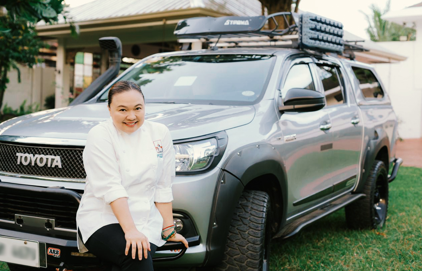 Iloilo restaurateur finds meaning in her menu with her Toyota Hilux