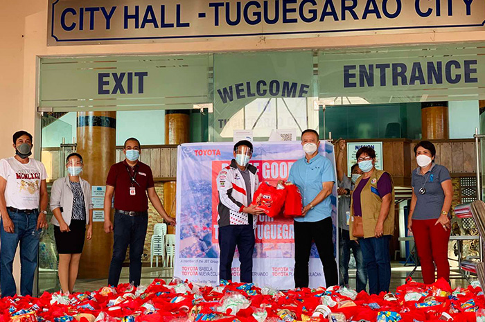 Toyota Tuguegarao and Toyota Isabela Bring Relief to Typhoon Ulysses-Stricken Families
