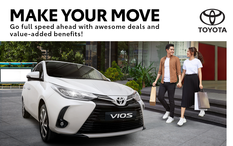 February is the month to Make your Move on a new Toyota!