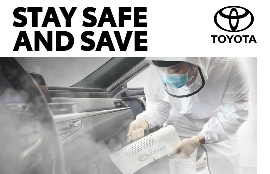 Toyota Sanitation Promo