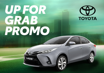 TOYOTA'S UP FOR GRAB PROMO