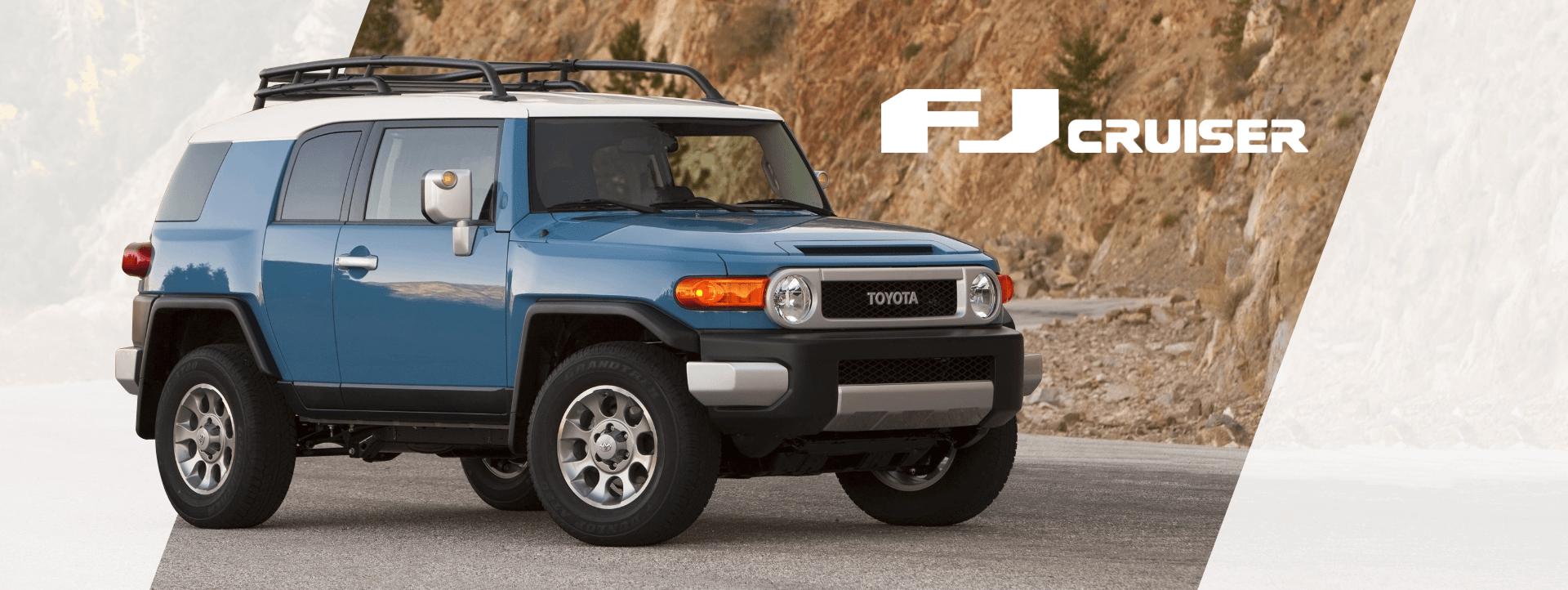 FJ Cruiser Desktop Banner